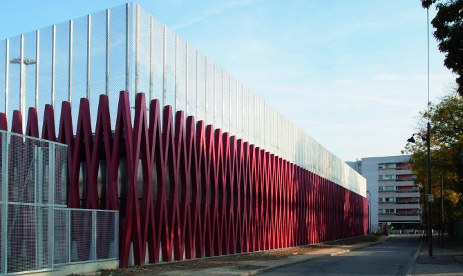 Prix grand public des architectures contemporaines de la m tropole parisienne projet - Clinique des sports porte des lilas ...